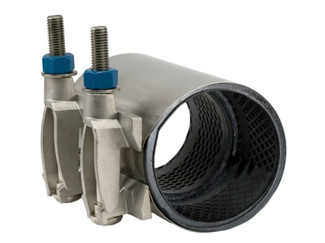 JCM 135 All Stainless Collar Leak Clamp