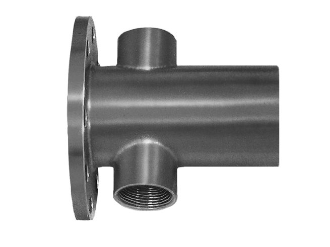 JCM 834 Flange x Plain End with Test Outlet